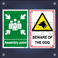 General Safety Signs & Instructions Name Plates