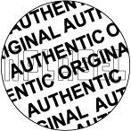 HG0019 Original/Authentic Hologram Sticker
