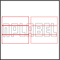 ML15050 General Purpose Sticker Size 150x50mm