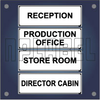 General Signs & Name Plates for Office & Buildings