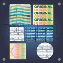 Original-Genuine Hologram Stickers