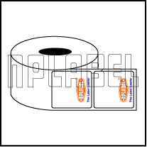 Preprinted Barcode Labels - Across 1 Label