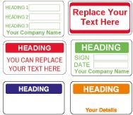 QC 001 Customize Quality Control Labels