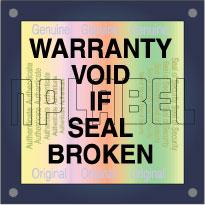 Warranty Void Hologram Sticker