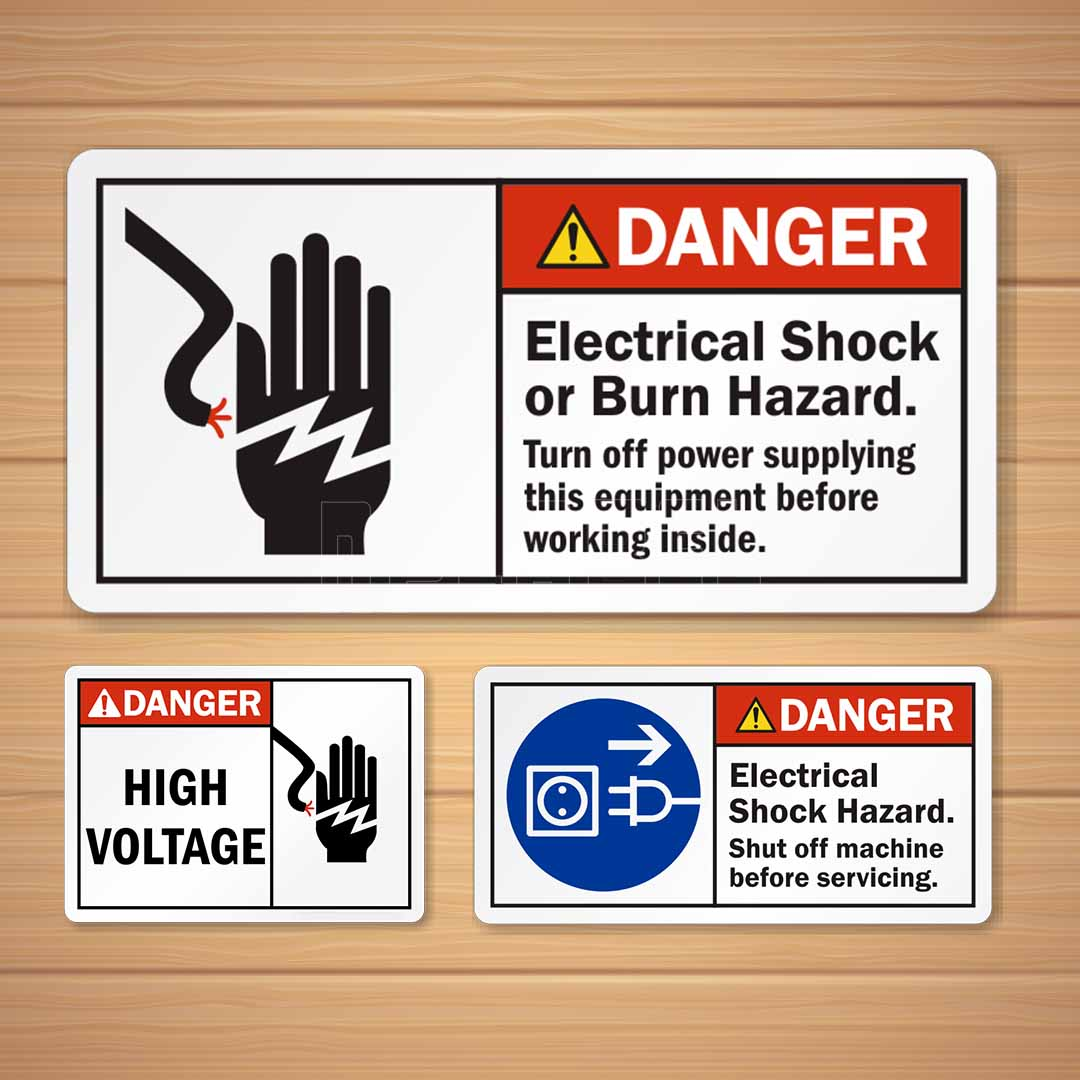 Labels & Stickers for Electrical & Electronics